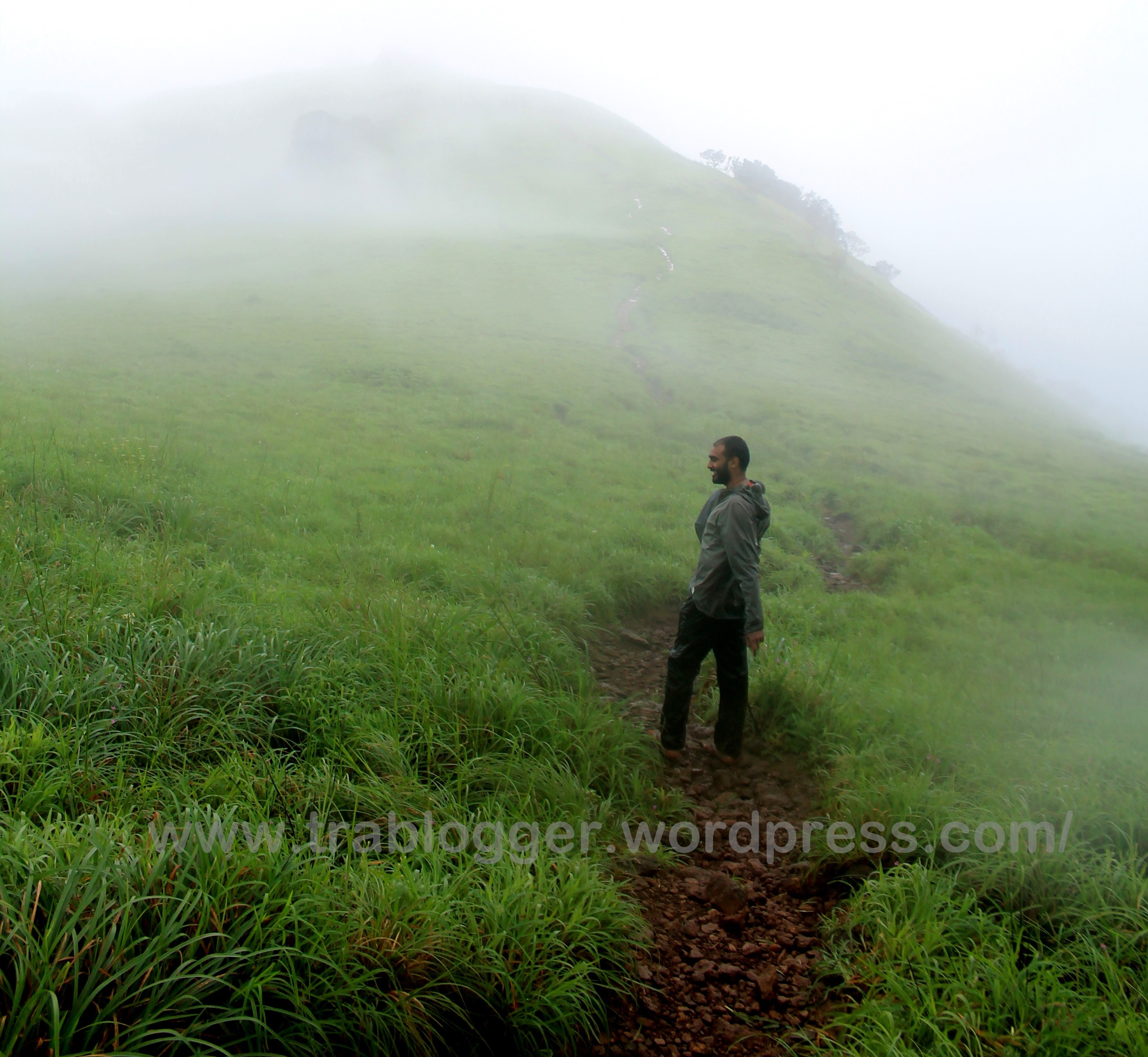 Almost there!! Near Vaithalmala peak