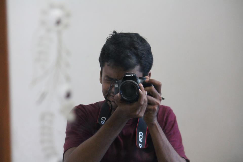 Trablogger's first dslr selfie