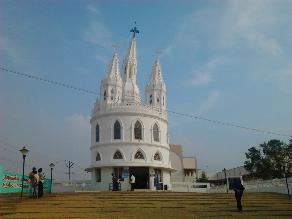 Leaning tower of Velankanni