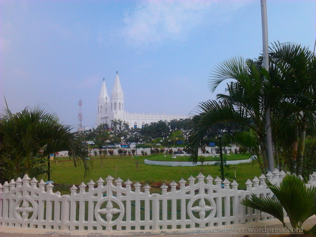 Beautiful Church at Velankanni