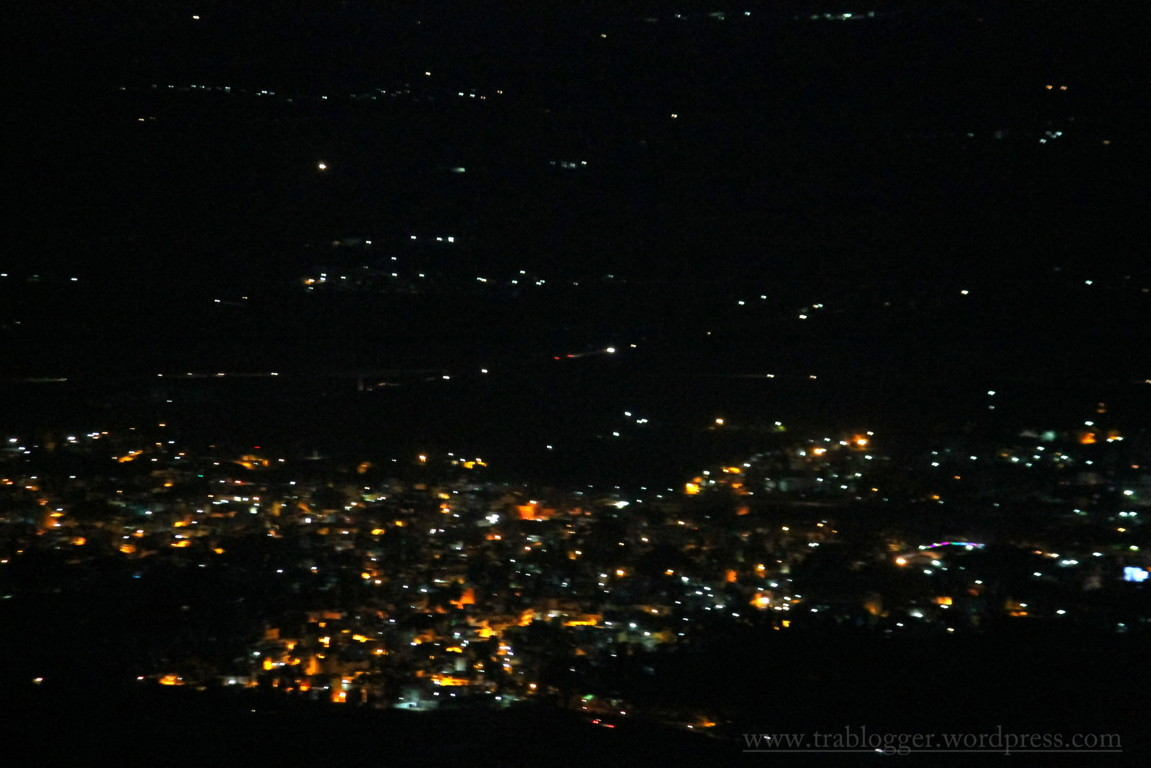 Night Lights from the village