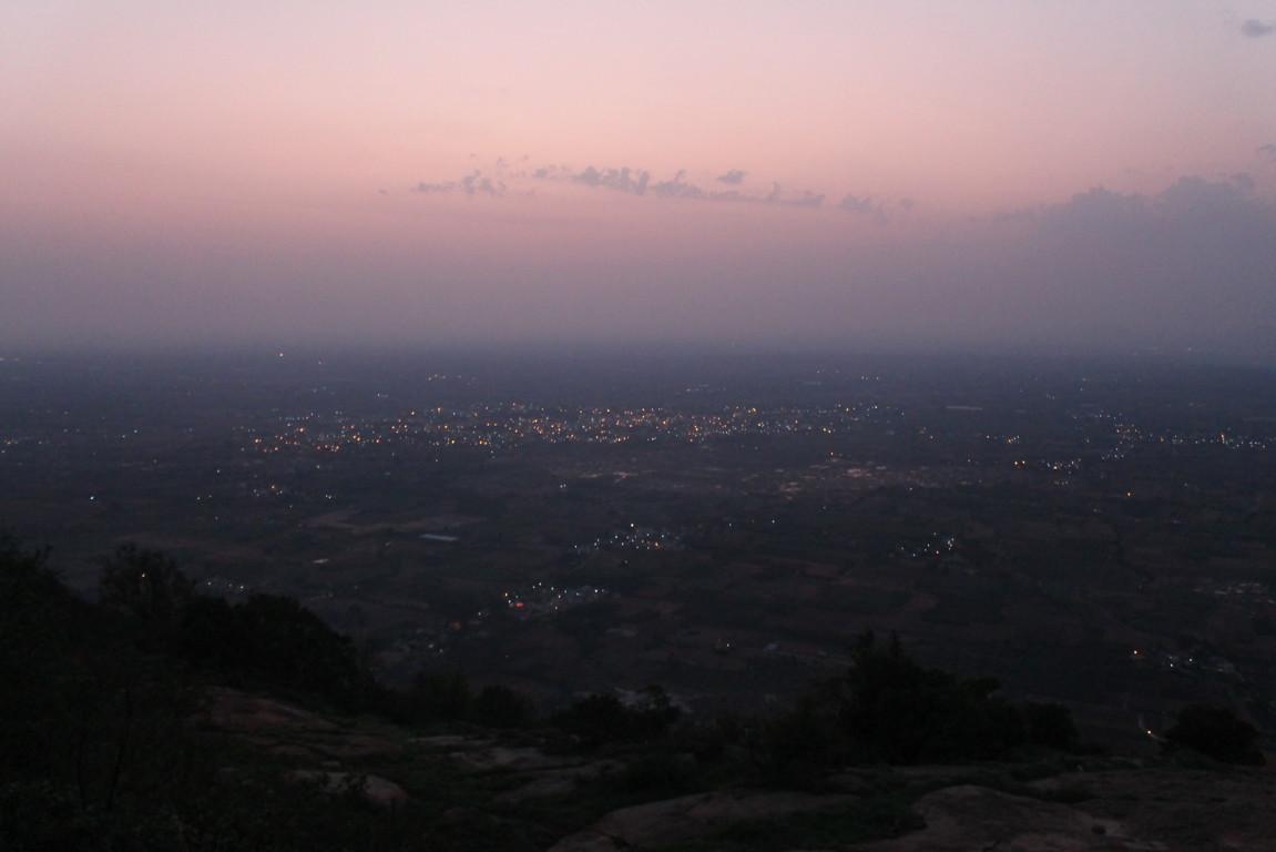 _skandagiri morning view