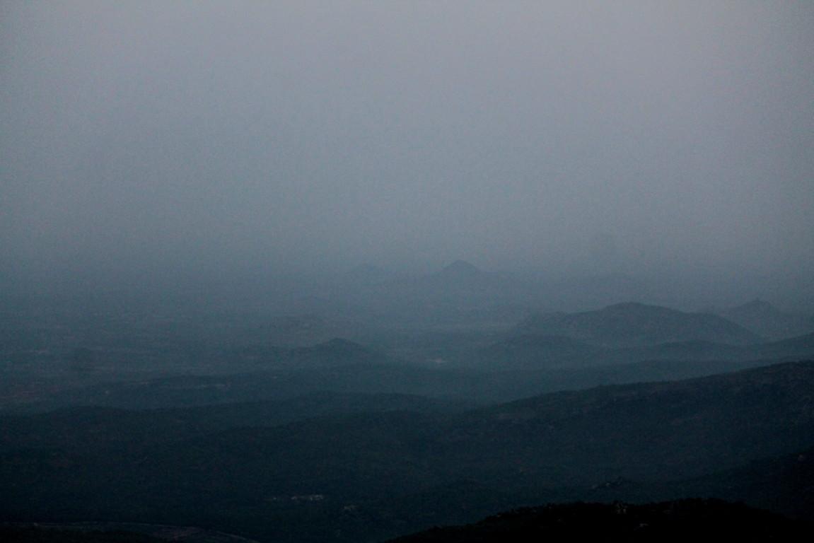 skandagiri valley in the morning