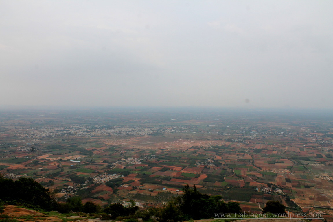 valley from Skandagiri top