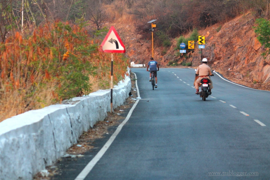 Chamundi hills cyclilng