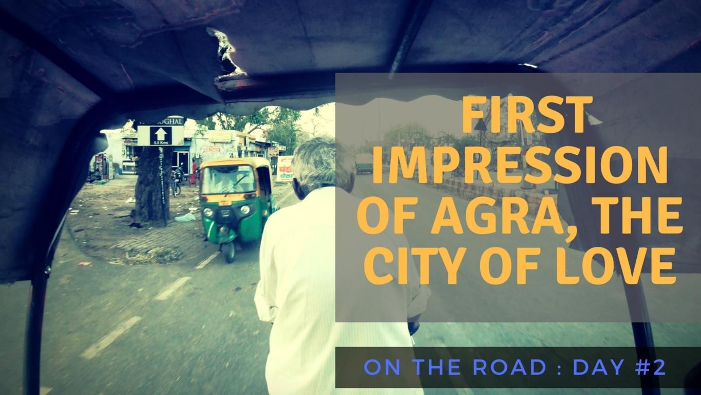trablogger in Agra