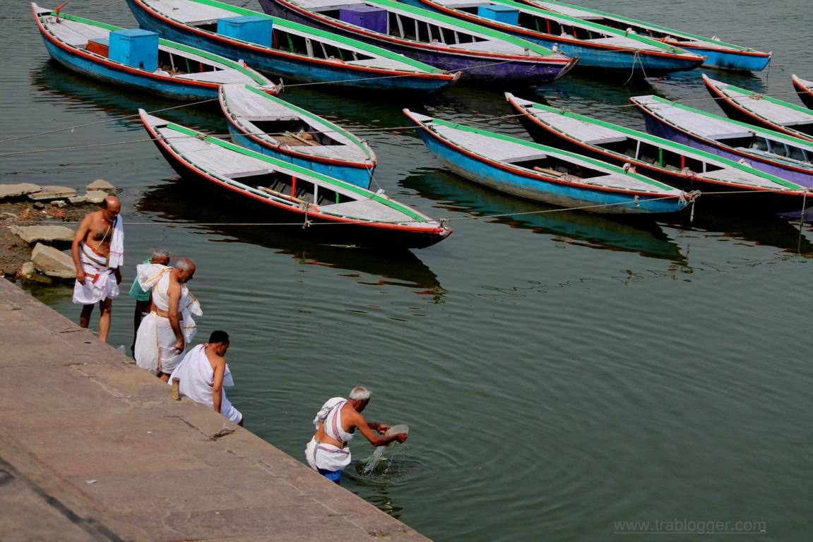 At Varanasi Ghat