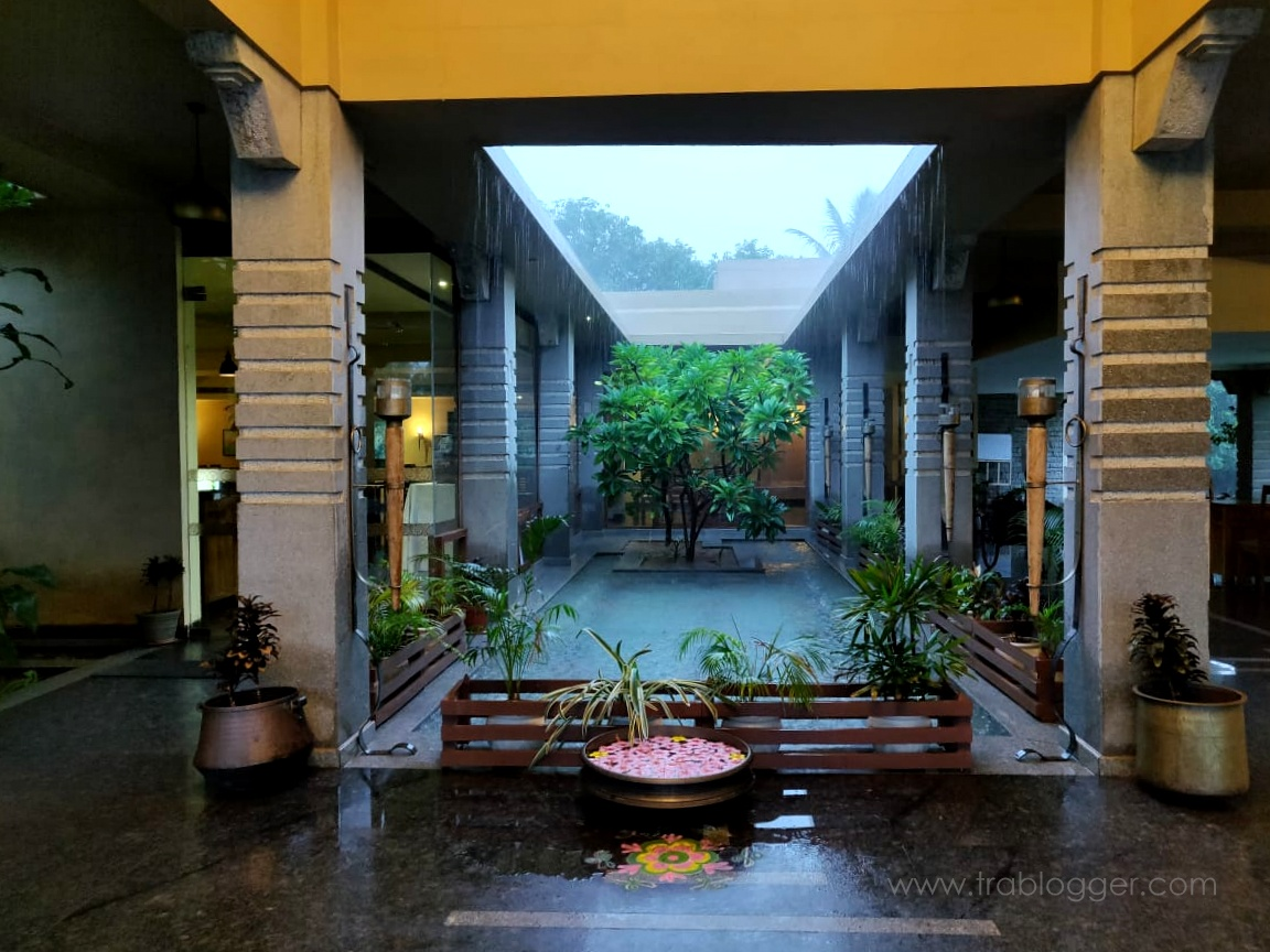 Heritage Resort Hampi Welcome area