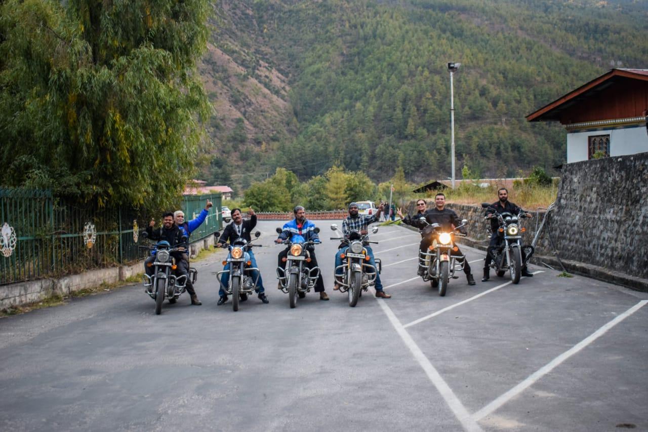 Bhutan bike trip 2018