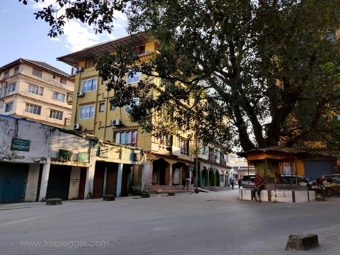 Clean streets of Bhutan