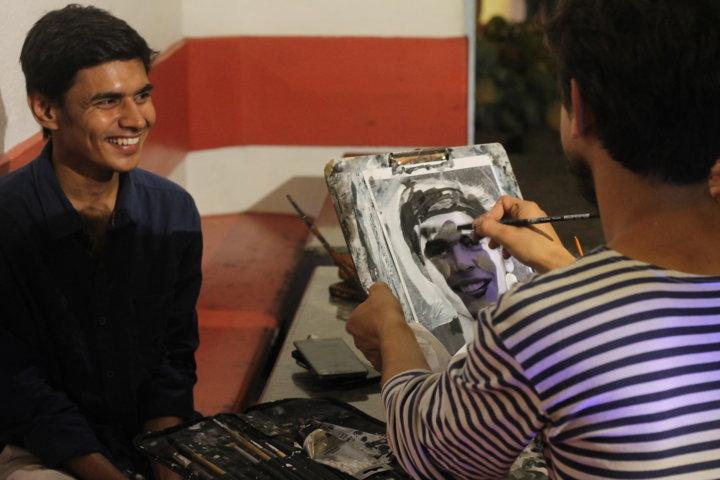 Sergey Balovin : Portrait making in action
