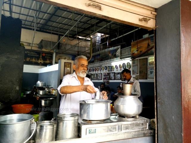 Balaji tea shop and travelling the world