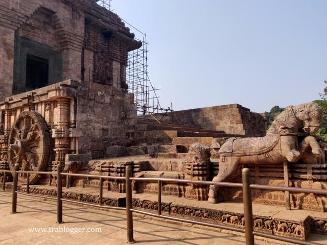 Chariot Horse of Konark sun temple