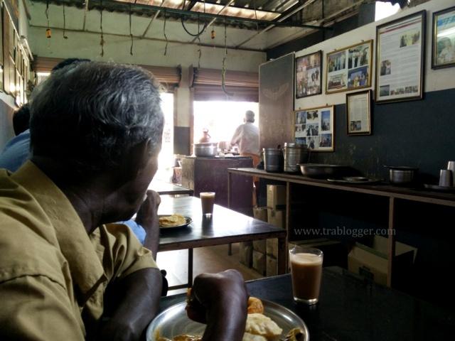 Inside Sree Balaji Coffee house