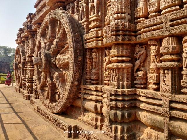 Wheels of Konark temple chariot