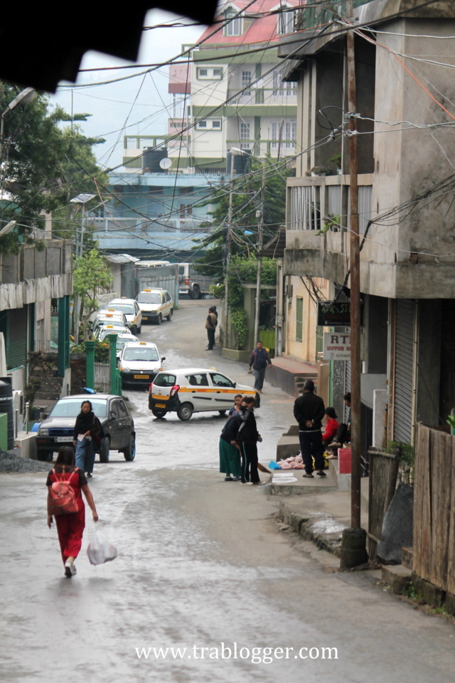 Clean streets of Aizawl