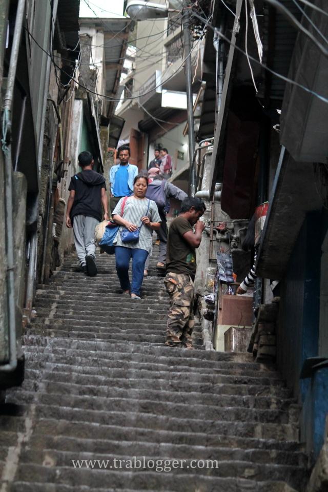 European like streets in Aizawl