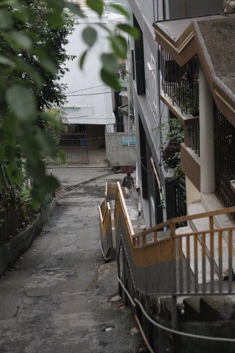European look alike streets of Aizawl rotated