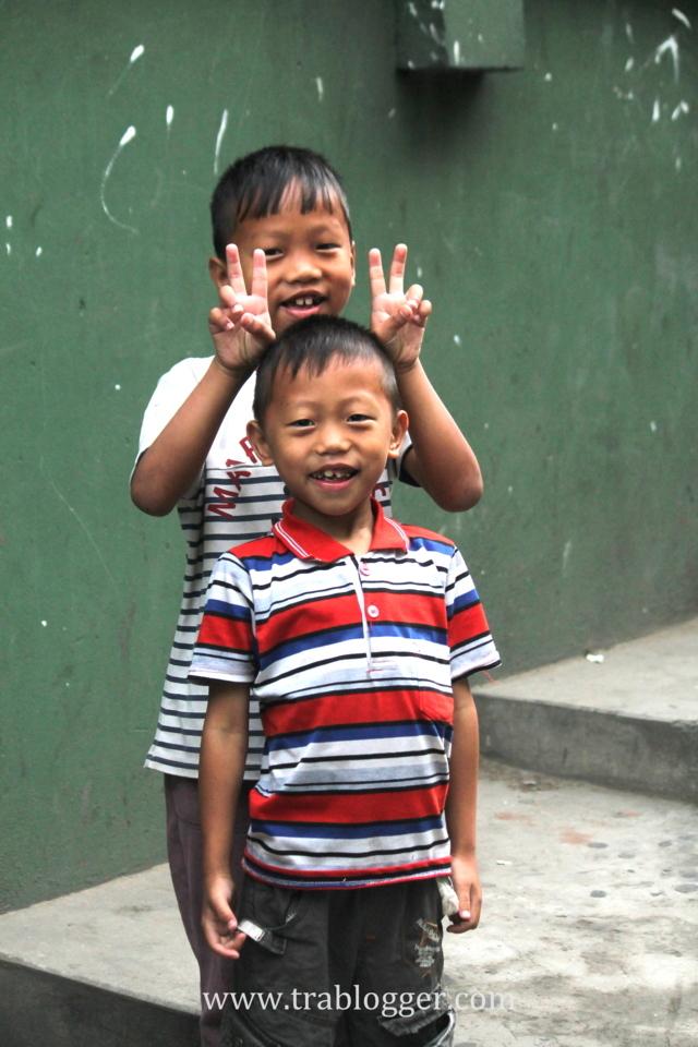 Friendly kids from Aizawl
