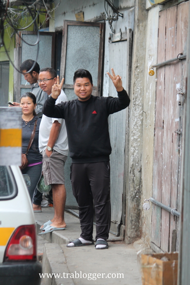 Friendly people of Aizawl