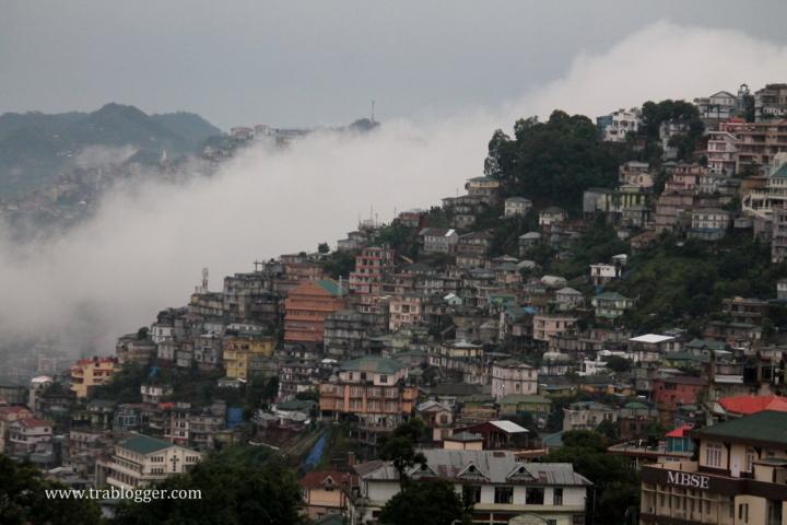 Stunning landscape of Mizoram