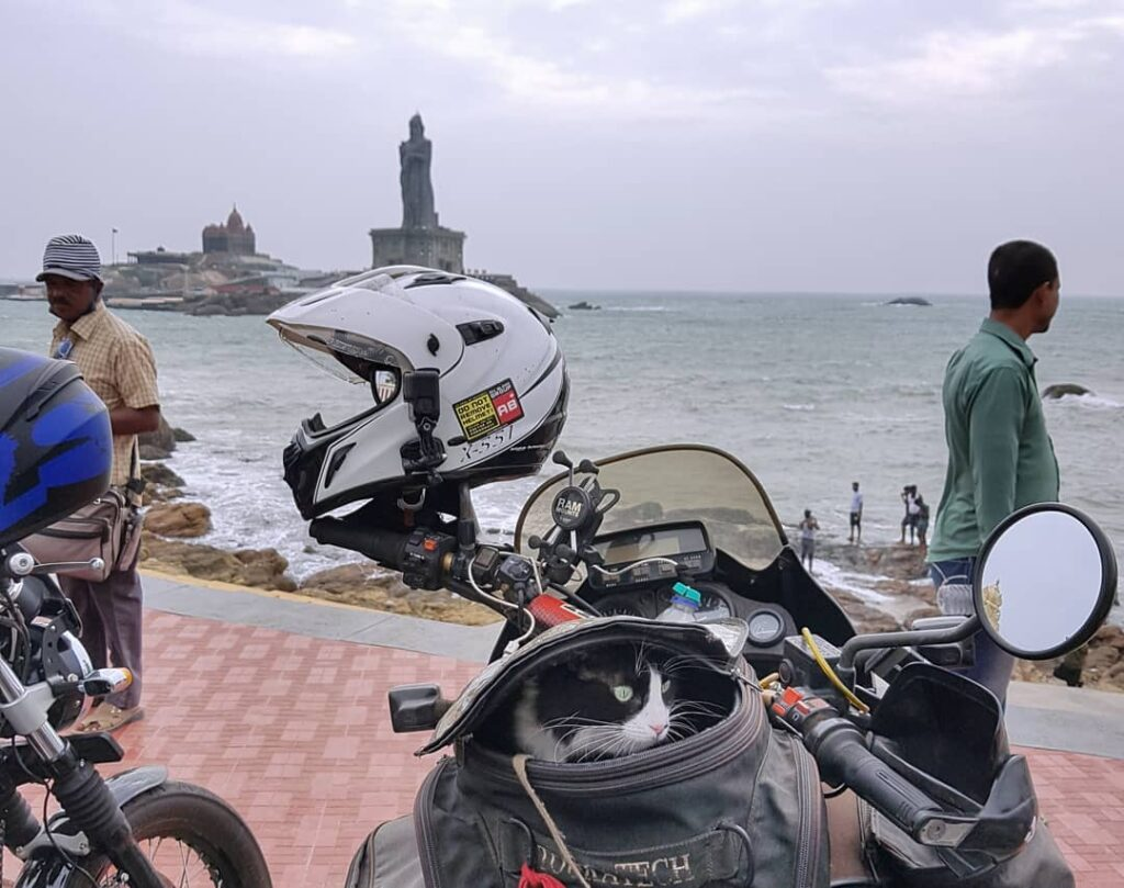 motomogli at the southern tip of India Kanyakumari